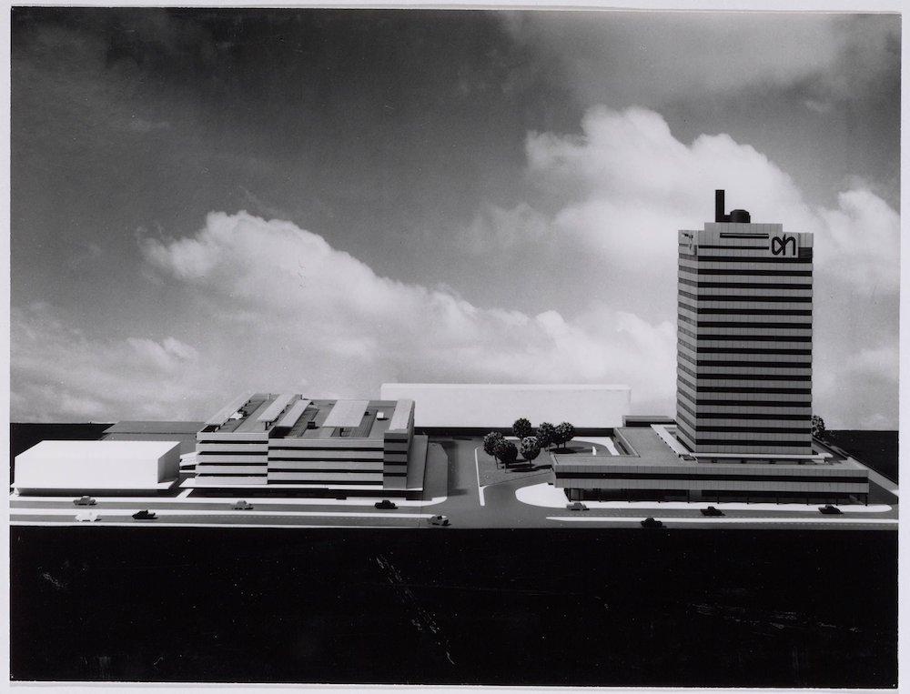 Maquette hoofdkantoor AH 1970 2202830