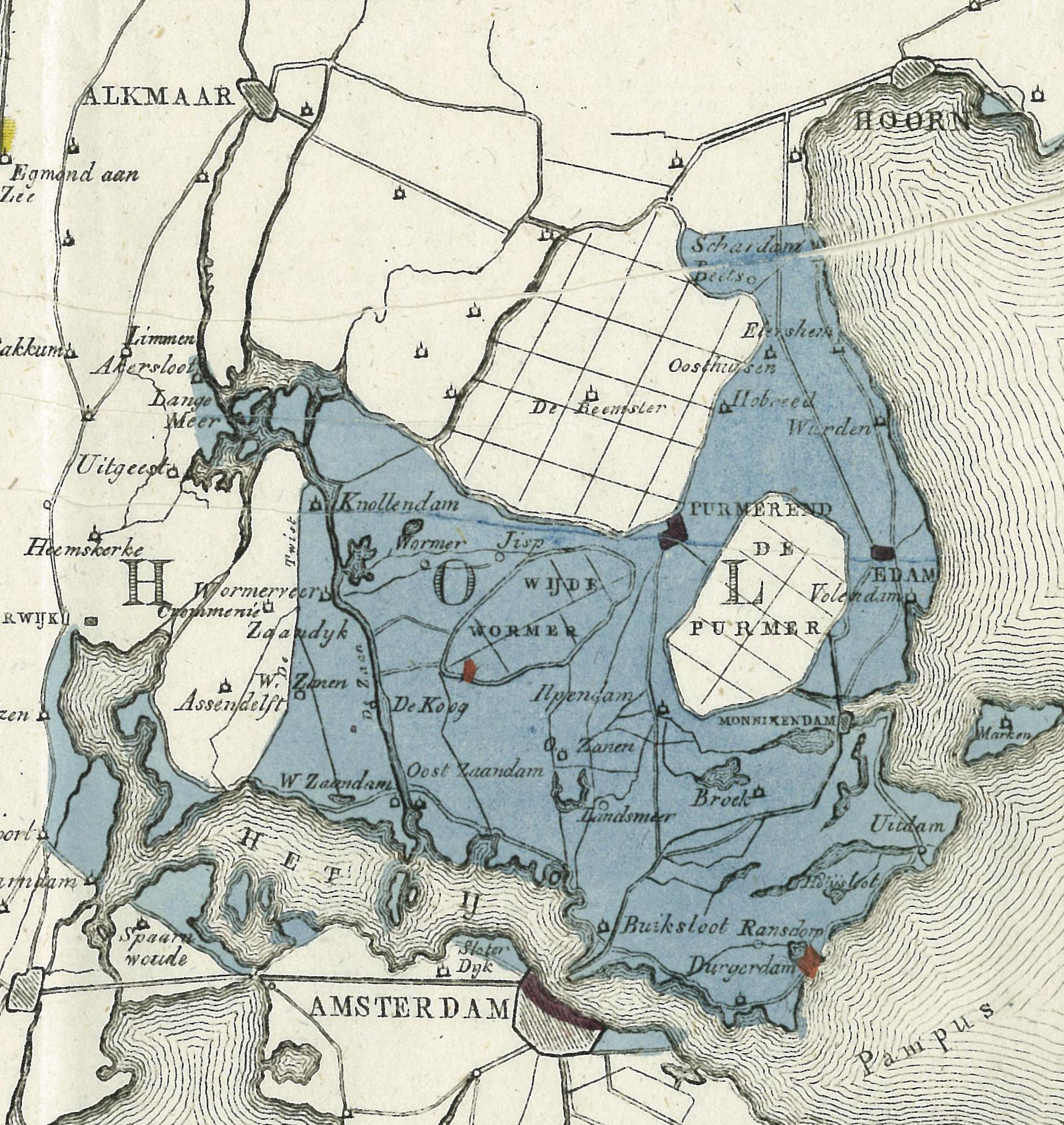 Overstroming 1825 Beijer