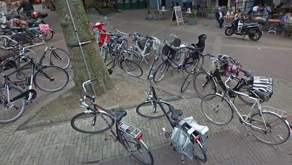 fietsen dam