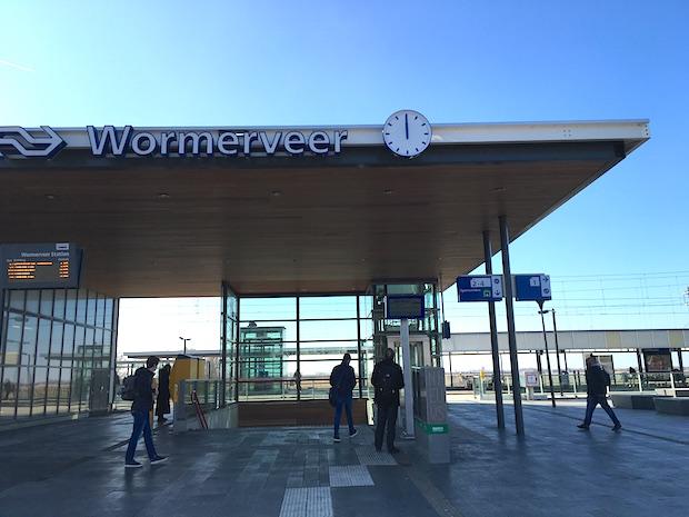 station wormerveer klok