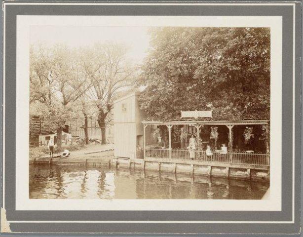 terras zaanzicht 1910