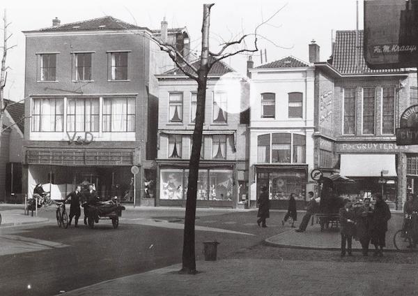 De winkel van V & D aan de Westzijde, vlak voor de sloop.
