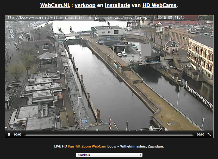 webcam sluis