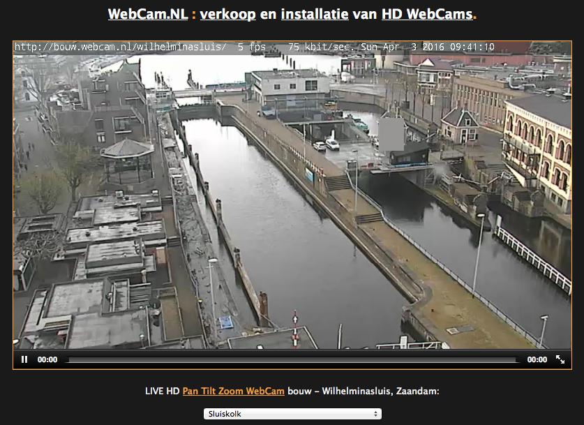 webcam sluis
