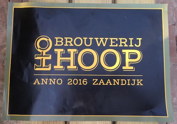 de hoop logo menu