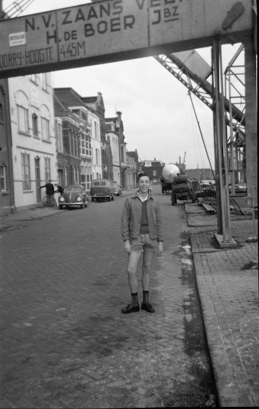 Jean-Marie bij Zaans Veem in Wormerveer.
