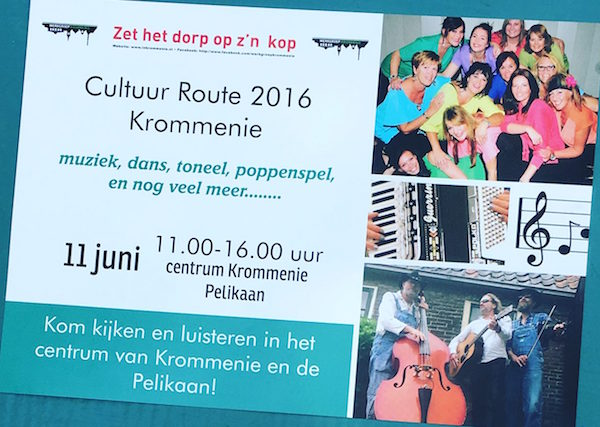 cultuurroute krommenie 2016