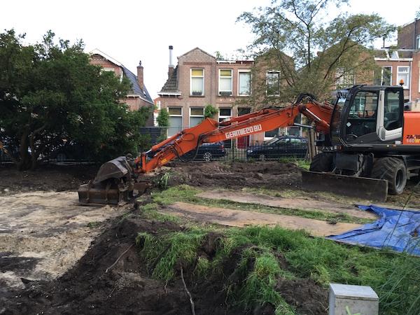 czaar peterplantsoen afgegraven