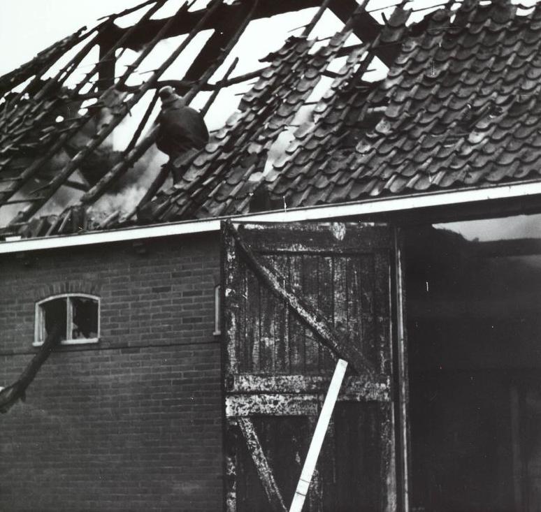 Boerderijbrand Jisp 1960