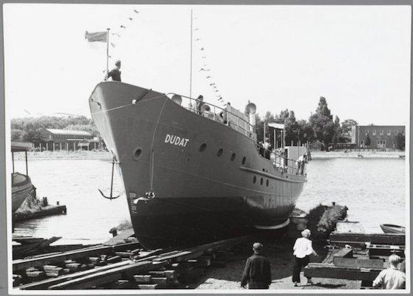 Scheepswerf Vooruit dudat 1950
