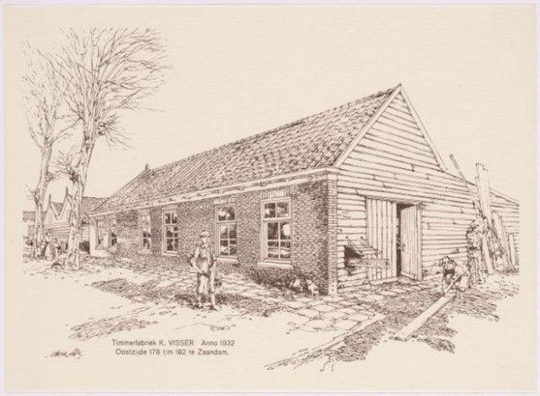 Timmerfabriek Visser 1932