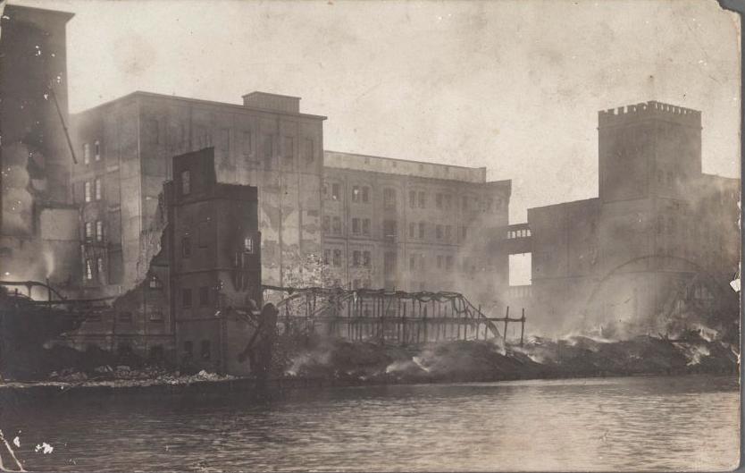 Vlijt en de Tijd brand 1912