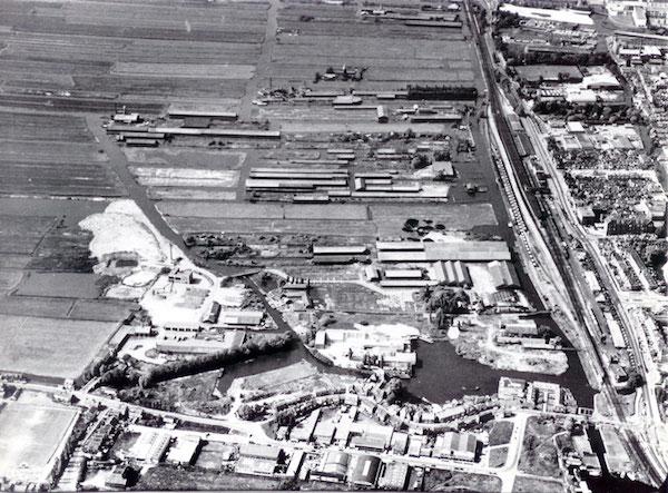vd stad luchtfoto-westzijderveld