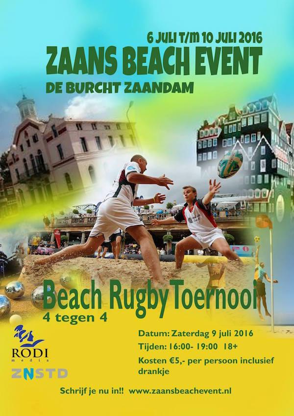 zaandijk rugby affiche
