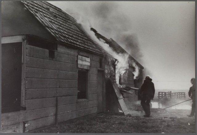 Krommenieërpad 1939 brand