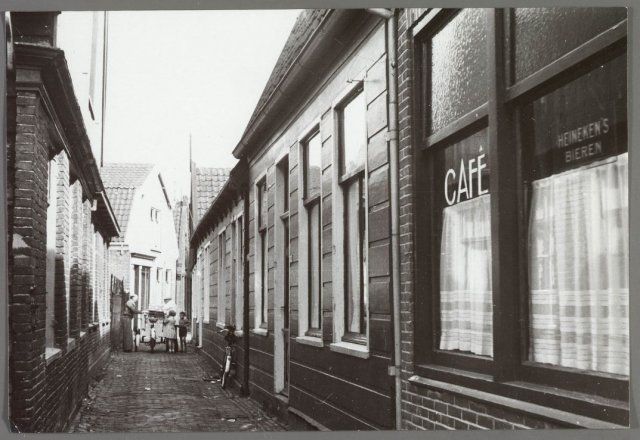 Krommenieërpad cafe 1930 zaanweg