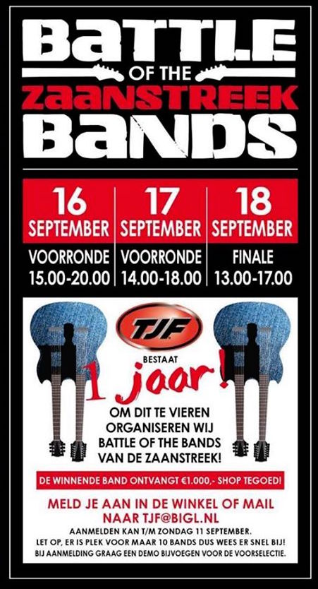 battle of the band 16 17 18 sept 2016