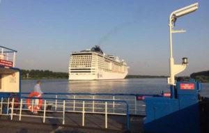 cruiseboot uit