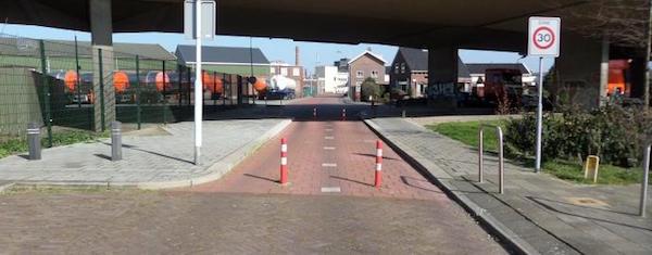 fietspaal-oostzijde