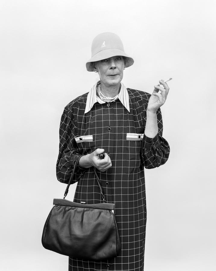 Portretten met TC. Model: Karen Mulder. Toestemming plaatsing website: ja
