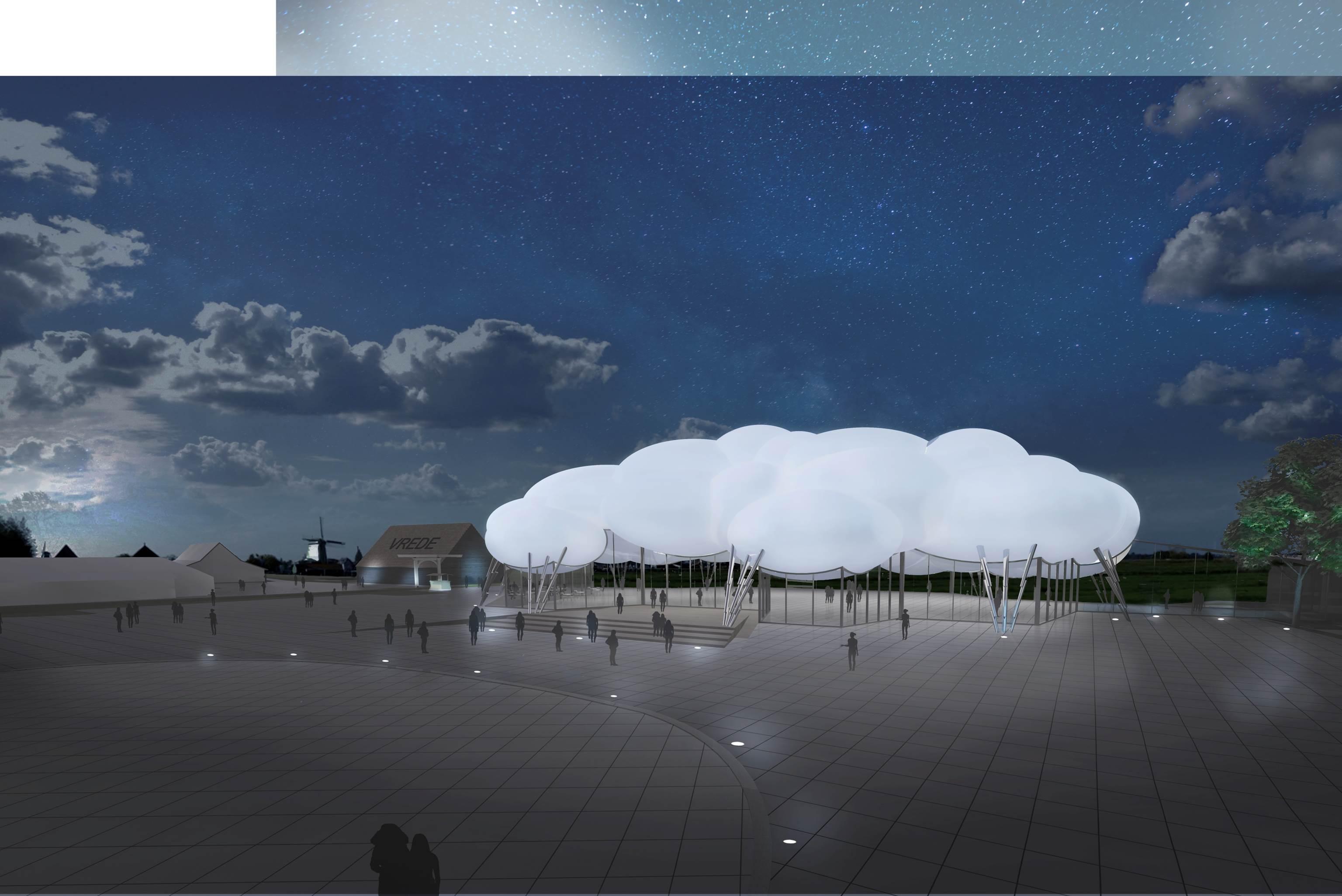 centraal-entreegebouw-voor-zaanse-schans-by-night-architect-wilfried-van-winden-wam-wow-design-group