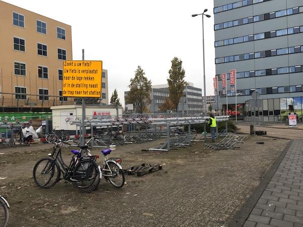 fietsenstalling-gesloopt
