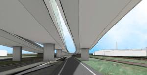 viaduct krommenie tekening