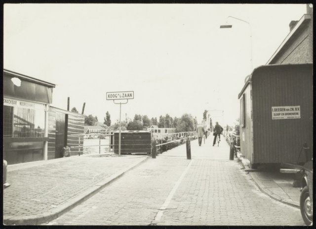 Snackbar Noorderbrug 1976 Rein van Houten
