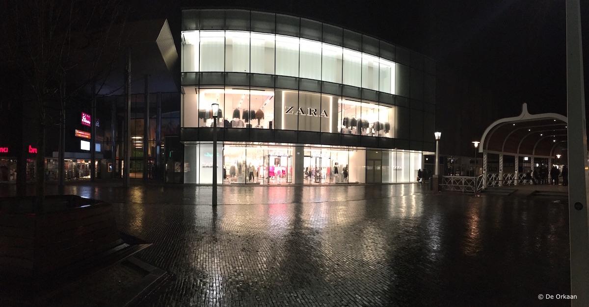 ZARA Zaandam, 1 maart 2017, De Orkaan
