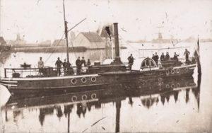 Raderboot Zaanstroom 1890
