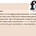 Slider FD Geen Amsterdam