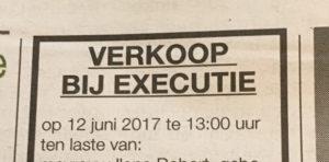 executie verkoop mercedes jinx