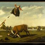 schilderij stier bullekerk