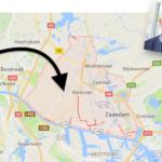 Slider Piet Bakker Zaanstad op de kaart