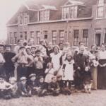Het Hofje Koog aan de Zaan 1910