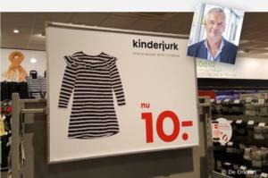 Piet Bakker Kinderjurk
