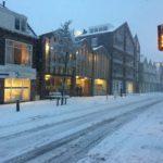 Vinkenstraat Zaandam sneeuw