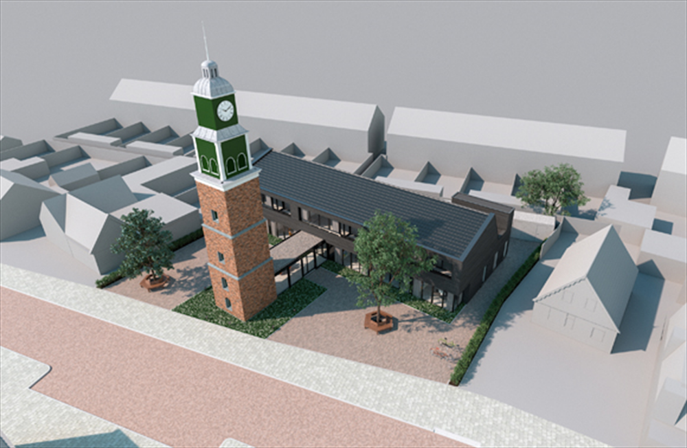 Nieuwsverzamelaar page 6 westerkoog en de busbrug - Houten toren zwembad ...