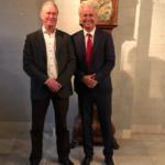 Koert Calkhoven met Geert Wilders