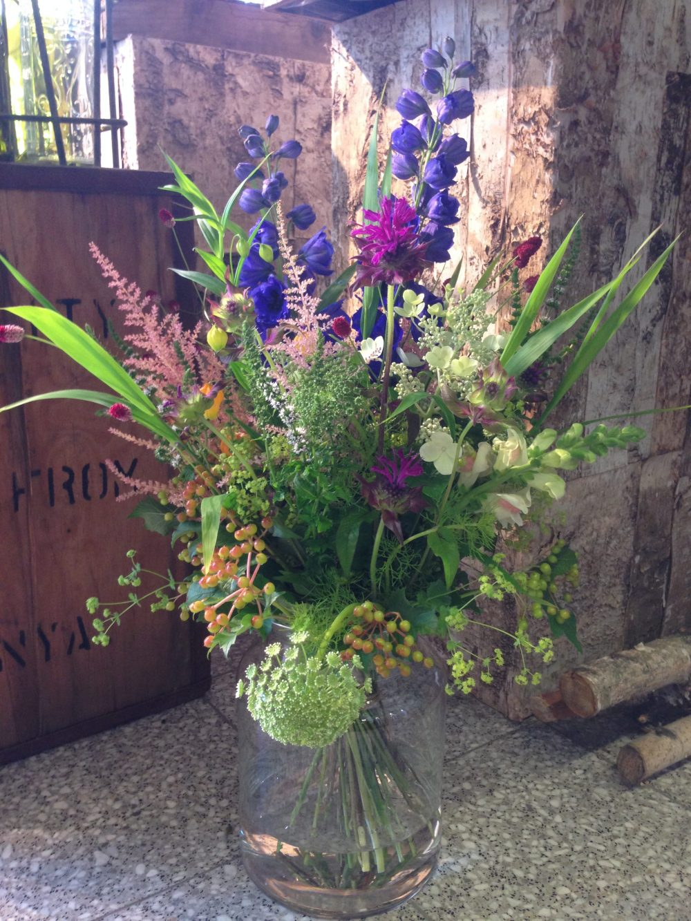 Bloementuin verhuist van westzijde naar westzijde de for Www bloem en tuin nl