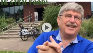 Jan de Vries D66 Cultuurcluster referendum