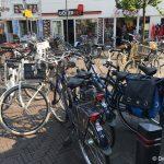 fietsen kop gedempte gracht