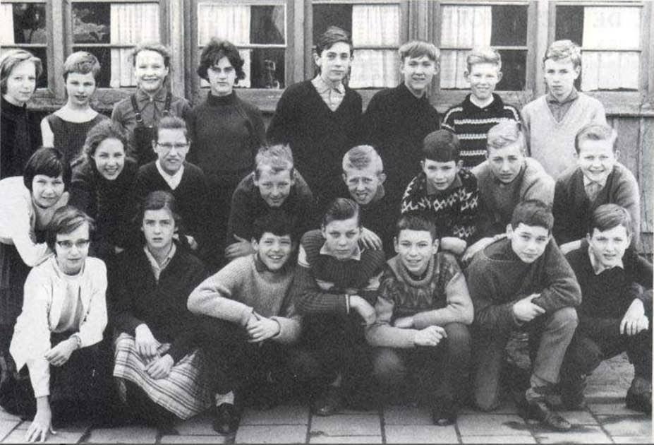 klas Klas 1A van de Chr. hbs in 1964.