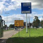 provincialeweg afgesloten