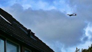 Vliegtuig boven Assendelft