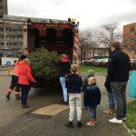 kerstbomen actie 2019 eiland auto