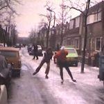 schaatsen straat koog ad zaan