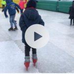 schaatspret schaatsen golfbreker