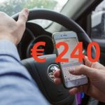 appen achter stuur