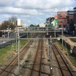 spooroverbouwing vanaf viaduct